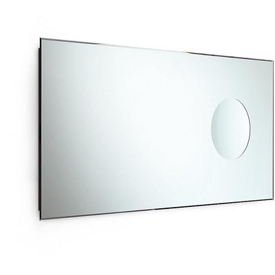 LB Speci Wall Bevelled Small Bath Vanity Bedroom Mirror W/ 3X Magnification Spot - AGM Home Store LLC