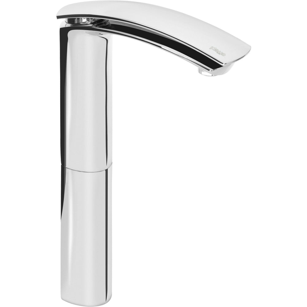Flow Single Lever Handle Bathroom Vessel Filler Tall Lavatory Basin Faucet - AGM Home Store LLC