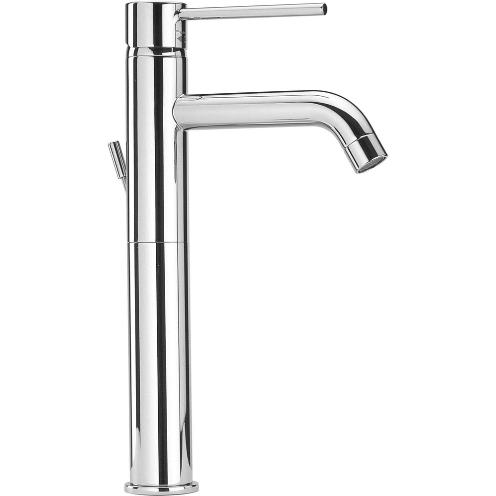 Elba single lever handle Bathroom vessel filler tall faucet (1.2 GPM) - AGM Home Store LLC