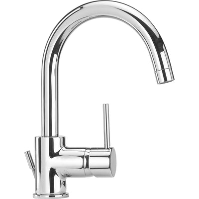 Elba single lever handle Bathroom lavatory faucet (1.2 GPM) Swivel Spout - AGM Home Store LLC
