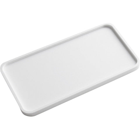 ID Solid Surface Rectangular Bath Vanity Countertop Guest Towel Organizer Tray - AGM Home Store LLC