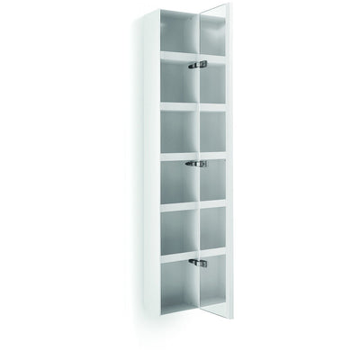 LB Ciacole Wall Mounted Cabinet with Full Length Mirror Door 63.4-inch, Steel - More Color Options Available - AGM Home Store LLC