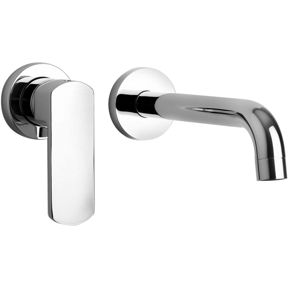 Novello single handle wall mounted bathroom lavatory faucet (1.2 GPM) - AGM Home Store LLC