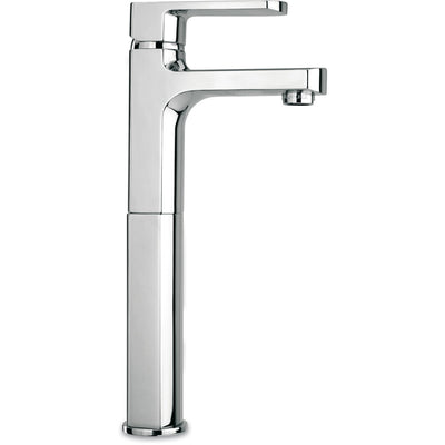 Novello tall single lever handle lavatory vessel filler faucet (1.2 GPM) - AGM Home Store LLC