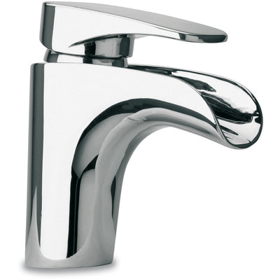 Novello waterfall single Lever handle Bathroom lavatory faucet (1.2 GPM) - AGM Home Store LLC