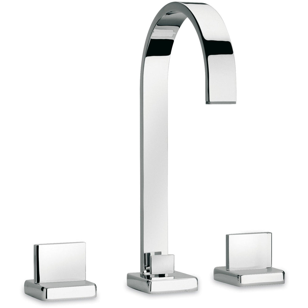 Novello widespread lavatory faucet with lever handles (1.2 GPM) - AGM Home Store LLC