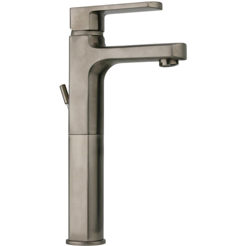 LaToscana Novello tall single lever handle lavatory vessel filler faucet (1.2 GPM) - AGM Home Store LLC