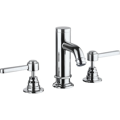 Firenze triple hole double lever handle widespread Bath lavatory faucet (1.2 GPM) - AGM Home Store LLC