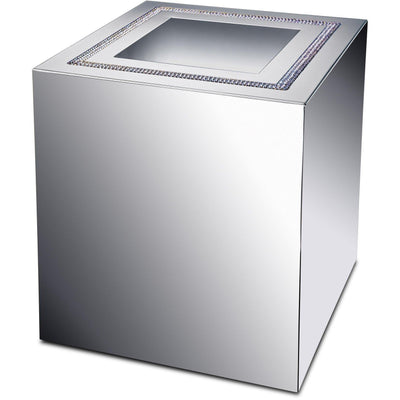 ShineLight Bathroom Wastebasket W/ Swarovski Crystals - AGM Home Store LLC