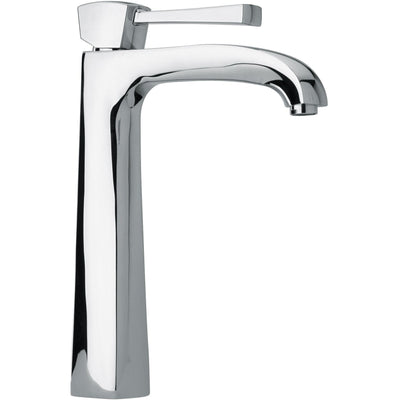 Lade single lever handle Bathroom vessel filler tall faucet (1.2 GPM) - AGM Home Store LLC