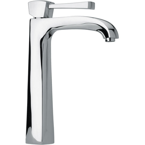 LaToscana Lade single lever handle Bathroom vessel filler tall faucet (1.2 GPM) - AGM Home Store LLC