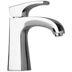 Kome small single handle Bathroom lavatory faucet in Chrome (1.2 GPM) - AGM Home Store LLC