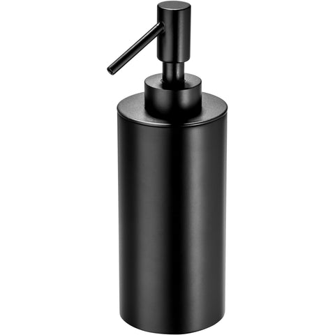 Black Table Pump Liquid Soap Lotion Dispenser for Bathroom, Kitchen, Brass - AGM Home Store LLC