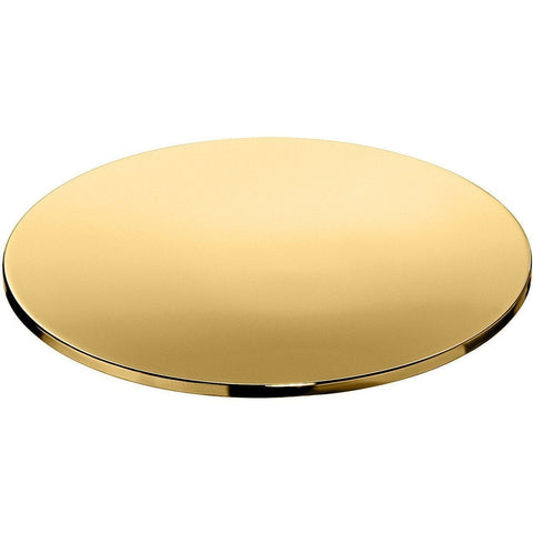 Lisa Free Standing Round Mini Soap Dish Holder Tray Soap Holder, Solid Brass - AGM Home Store LLC