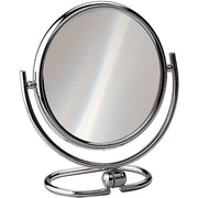Elegant Round Table Top Double Sided 5X Cosmetic Makeup Magnifying Mirror - AGM Home Store LLC