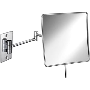 "Elegant Wall Single Sided Swing Extendable 16"" Makeup Magnifying Cosmetic Mirror - AGM Home Store LLC"