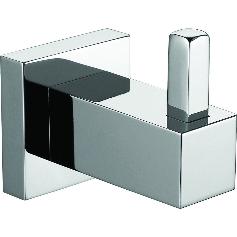 ME Cubo Brass Chrome Towel Robe Hook/ Coat Hanger for Bath Kitchen Garage - AGM Home Store LLC