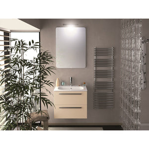 Ambra 24 in. Wall Mounted Bathroom Vanity Cabinet Set Bath Furniture - AGM Home Store LLC
