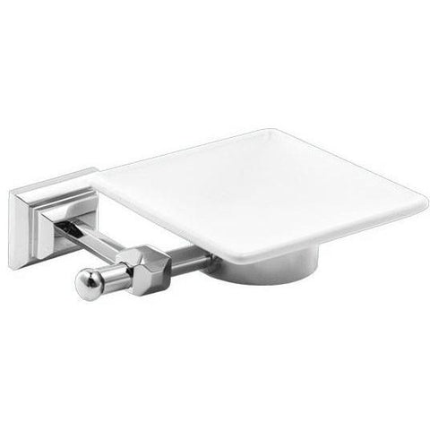 GM Luxury Diamante Wall Mounted Soap Dish Holder Tray Soap Holder, Brass - AGM Home Store LLC