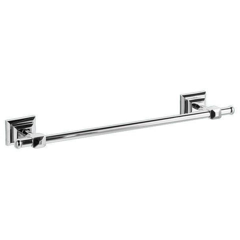 GM Luxury Diamante Wall Towel Bar Rail Holder Hanger Bath Hanging Rack, Brass - AGM Home Store LLC