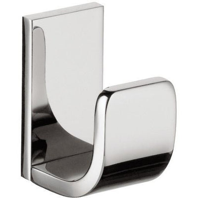 BA Altissima Wall Towel Robe Hook Hanger for Bath Towel Holder - Brass Chrome - AGM Home Store LLC