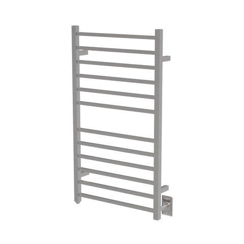 Amba RSWHL-B Radiant Large Square Hardwired Towel Warmer Brushed Stainless Steel - AGM Home Store LLC