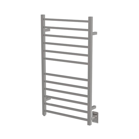 Amba RSWHL-P Radiant Large Square Hardwired Towel Warmer, Polished Steel - AGM Home Store LLC