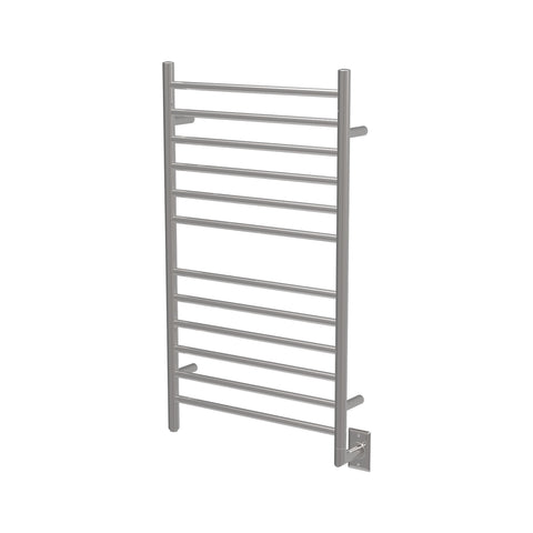 Amba RWHL-SP Radiant Large Straight Hardwired Towel Warmer, Polished Steel - AGM Home Store LLC