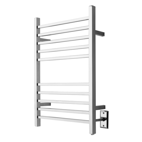 Amba RSWH-P Hardwired Radiant Square Towel Warmer, Polished Stainless Steel - AGM Home Store LLC