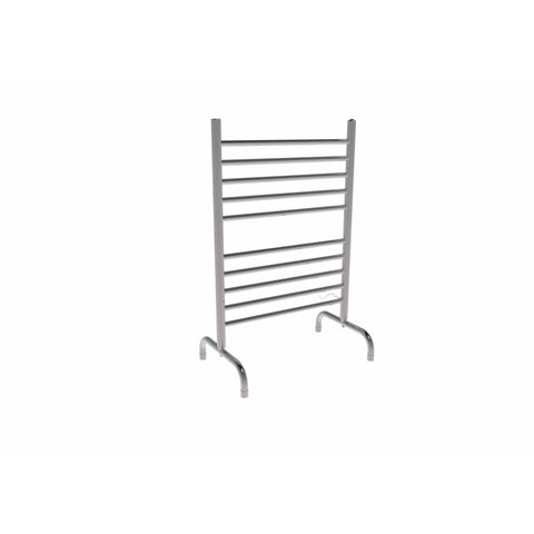 Amba SAFSP-24 Solo 24-Inch x 38-Inch Freestanding Towel Warmer, Polished Steel - AGM Home Store LLC