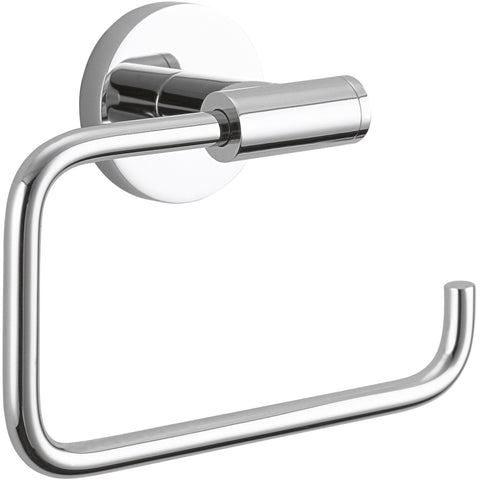 DWBA Brass Small Towel Ring Holder / Towel Hanger. Polished Chrome