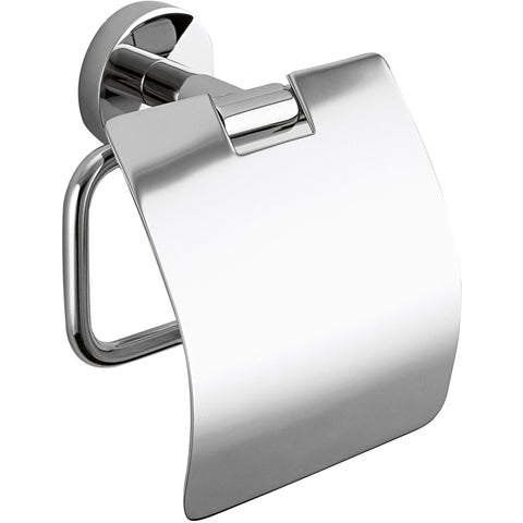 DWBA Wall Toilet Paper Holder/ Roll Tissue Holder W/ Lid. - AGM Home Store LLC