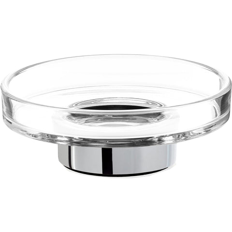 CENTURY WSS Wall Bathroom Soap Dish Holder Tray Soap Holder, Soap Saver, Glass - AGM Home Store LLC
