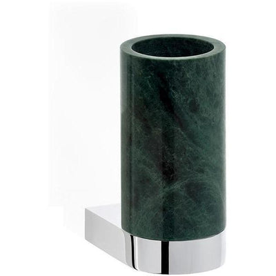 DWBA Wall Bathroom Toothbrush Holder Standing Toothpaste Tumbler, Marble Green - AGM Home Store LLC
