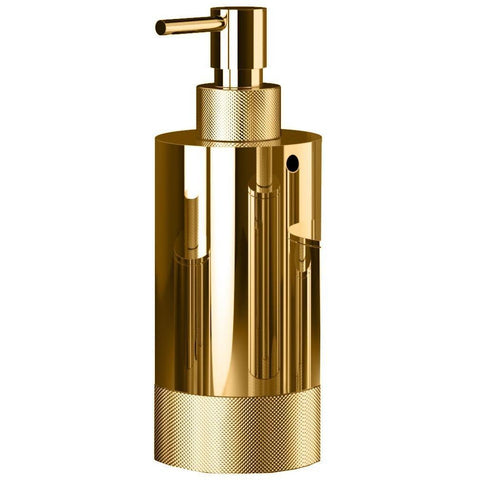 CLUB SSP 1 Solid Brass Bathroom or Kitchen Pump Liquid Soap Lotion Dispenser 5 oz - AGM Home Store LLC