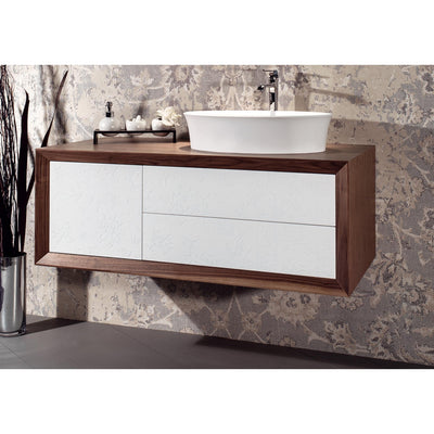 "GM Luxury Contempora 47"" Bathroom Vanity Cabinet Set Decorated, Single Sink - AGM Home Store LLC"