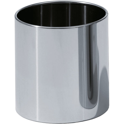 DW 105 Round Open Top Trash Can, Stainless Steel Wastebasket W/O Lid Cover - AGM Home Store LLC