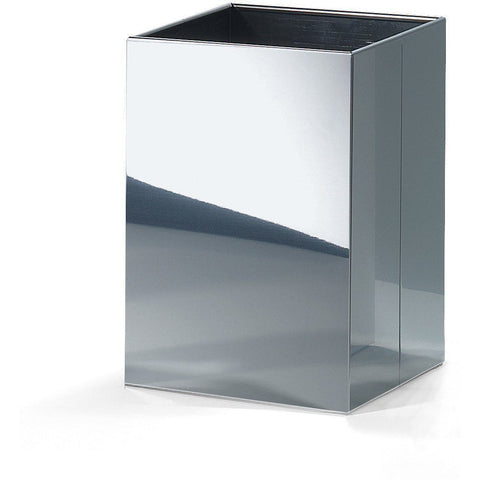 DWBA Square Open Top Trash Can, Stainless Steel Wastebasket W/O Lid Cover - AGM Home Store LLC