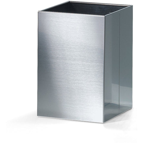 DWBA Square Open Top Trash Can, Stainless Steel Wastebasket W/O Lid Cover