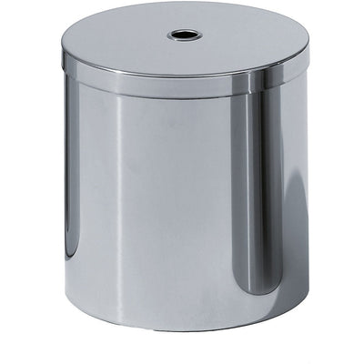 DWBA Round Trash Can, Stainless Steel Wastebasket W/ Lid Cover - AGM Home Store LLC