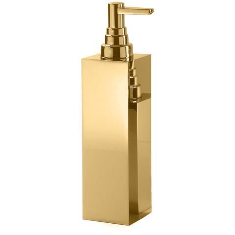 DW 315 Brass Table Pump Soap Lotion Dispenser 230 ml / 8 oz for Kitchen/ Bathroom - AGM Home Store LLC