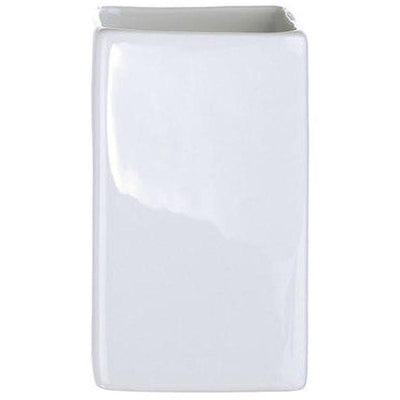 DWBA Square Porcelain Bathroom Toothbrush Holder Standing Toothpaste Tumbler - AGM Home Store LLC