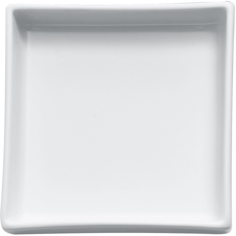 DW 616 Countertop Soap Dish / Soap Saver Holder Tray, Porcelain White - AGM Home Store LLC