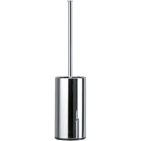 DWBA Standing/ Wall Mounted Toilet Bowl Brush and Holder Set. Chrome