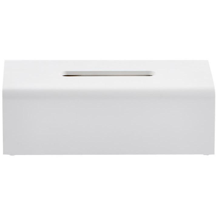 DWBA Stone Rectangular Tissue Box Holder Cover Tray Dispenser Tissue , White - AGM Home Store LLC