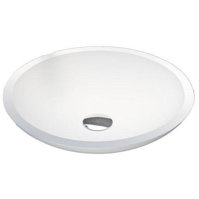 GM Luxury Oval Resin Vessel Sink Bowl Above Counter Sink Washbasin for Vanity - AGM Home Store LLC