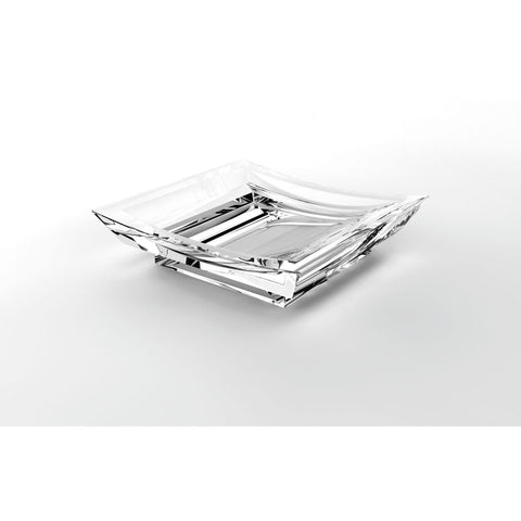 Lux Firenze Free Standing Acrylic Soap Dish Holder Tray Soap Holder - AGM Home Store LLC