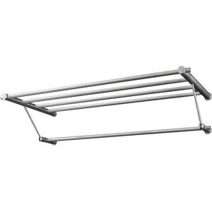 PSBA Shelf Towel Hanging Storage Towel Rack W/ Bar Holder Stainless Matte Steel - More Sizes Available - AGM Home Store LLC