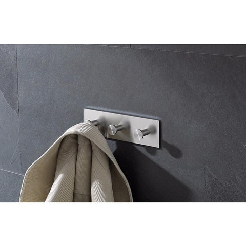 PSBA Stainless Steel Hooks, Towel Robe Hook Set Coat Rack for Bathroom, Kitchen - More Sizes Available - AGM Home Store LLC