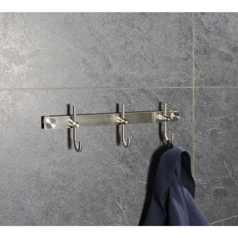 PSBA Stainless Steel Hooks, Towel Robe Hook Set Coat Rack for Bathroom, Kitchen - AGM Home Store LLC